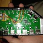 Powered USB hub mod